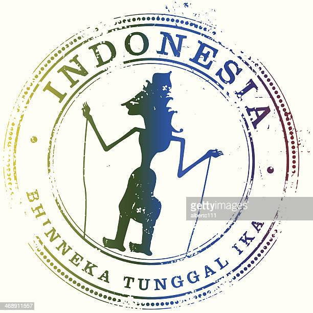 Indonesia Travel Stamp