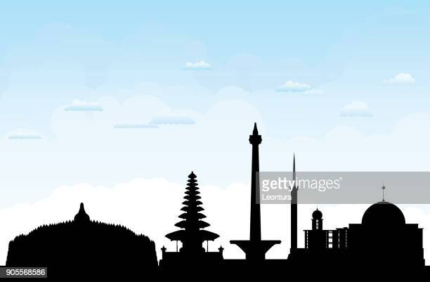 Indonesia (All Buildings Are Complete and Moveable)