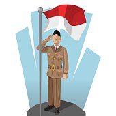 Free Download Of Bendera Indonesia Vector Graphics And Illustrations