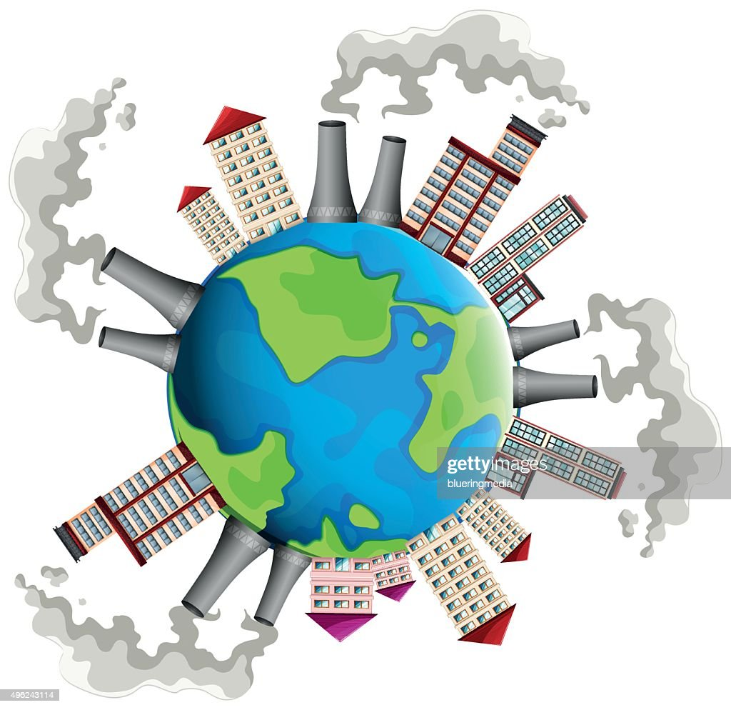 Industrial area all over the world