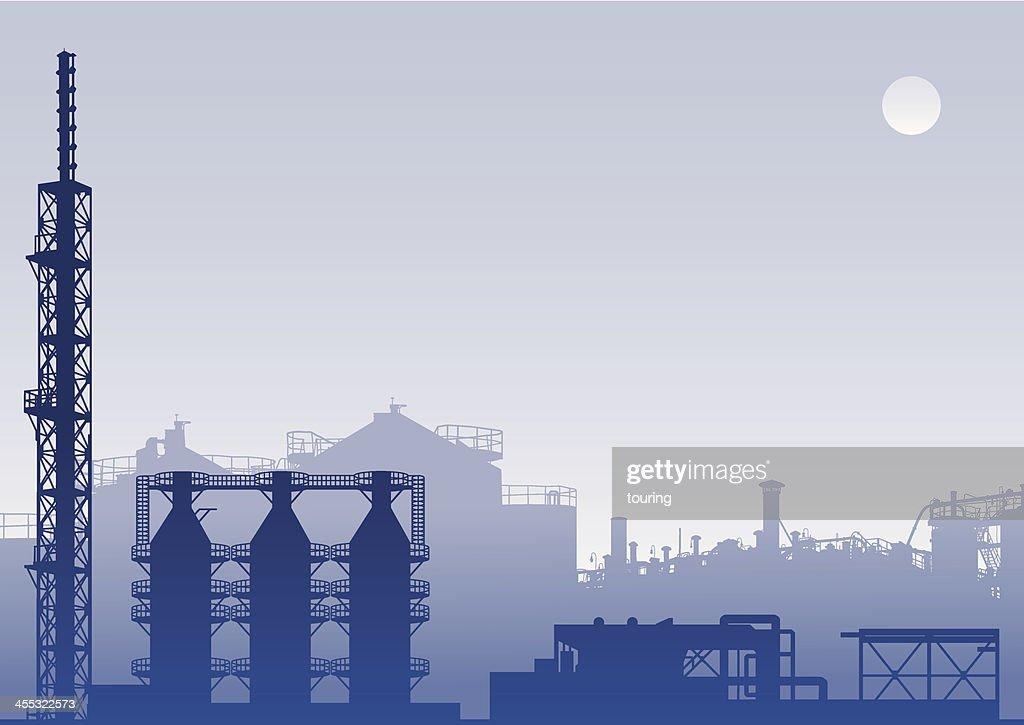Industrial Background : stock illustration