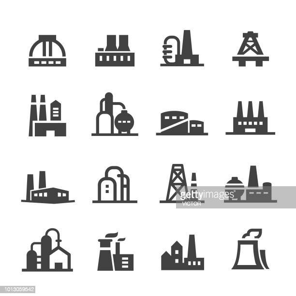 industrial building icons - acme series - brewery stock illustrations, clip art, cartoons, & icons