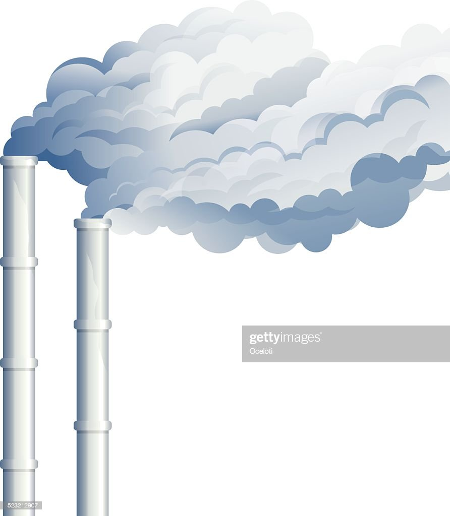 Industrial Chimney Smoke