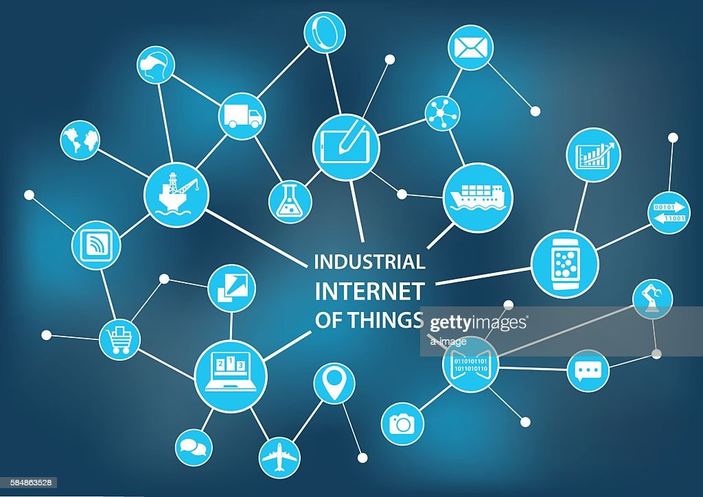 Industrial internet of things / industry 4.0 concept