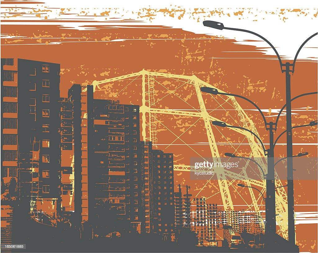 industrial skyline