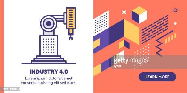 Industry 4.0 Banner
