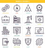 Industry 4.0 Icon Set