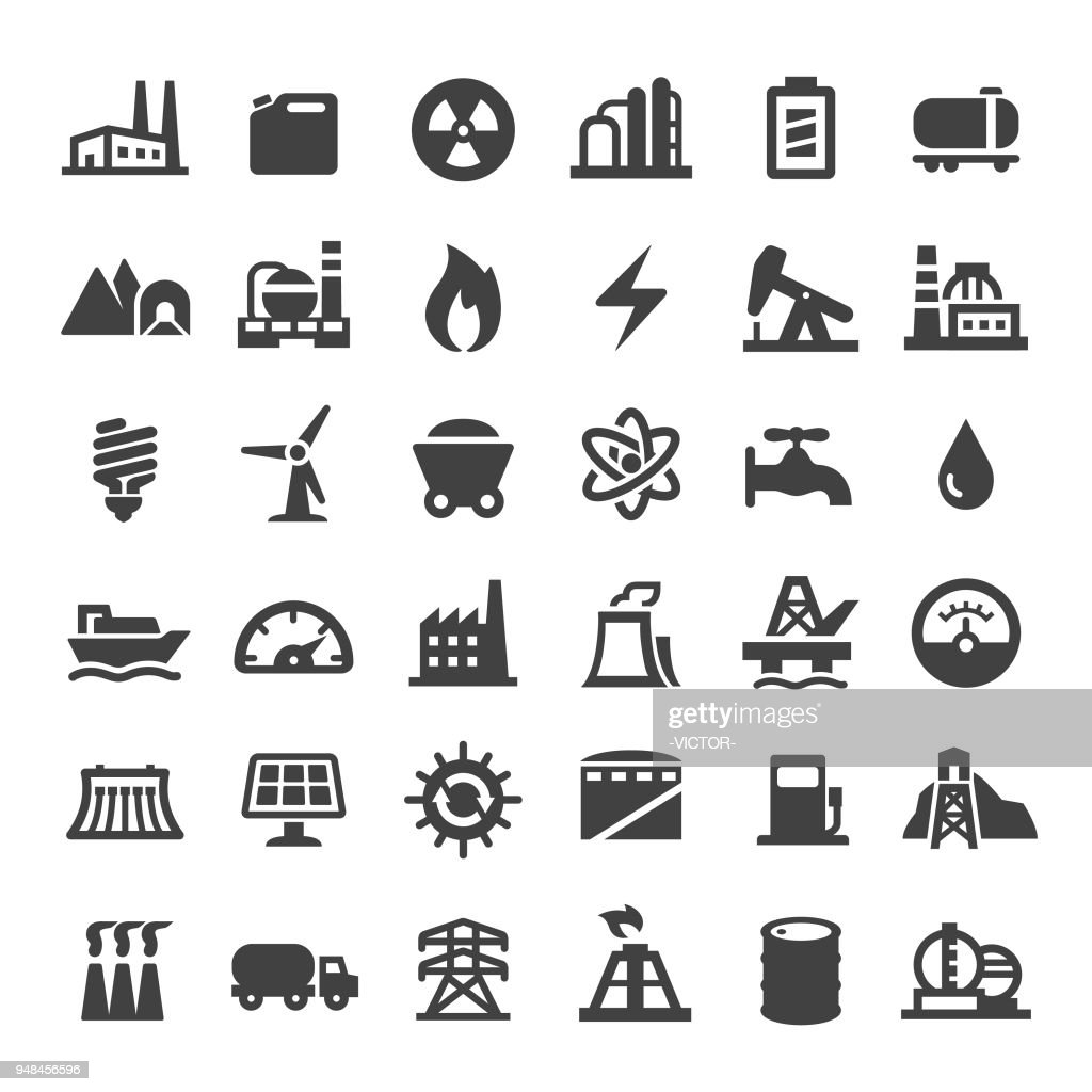 Industry Icons - Big Series : stock illustration