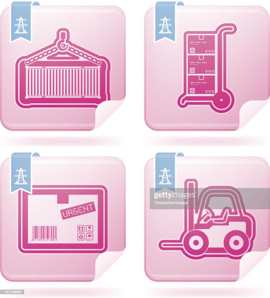 Industry Icons: Transportations : Vector Art