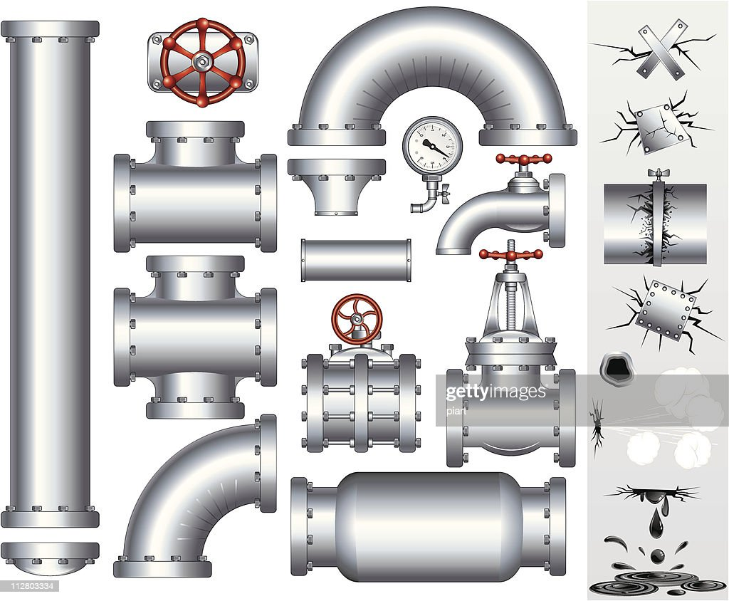 Industry Pipeline vector
