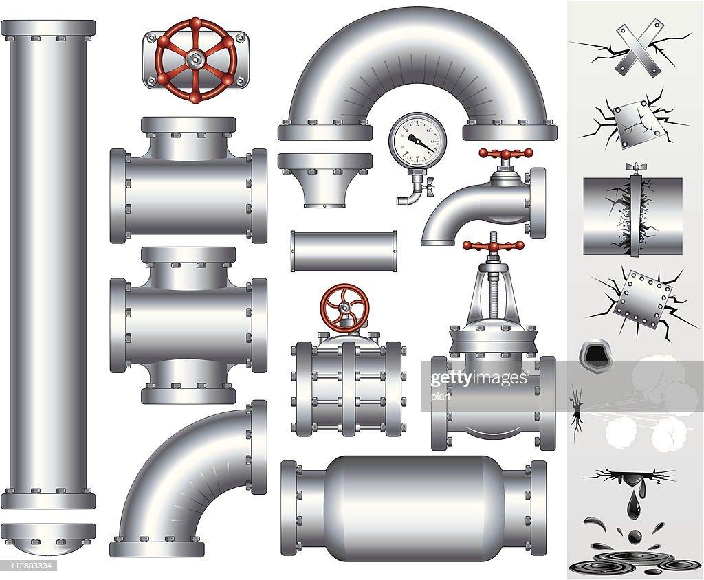 Industry Pipeline vector