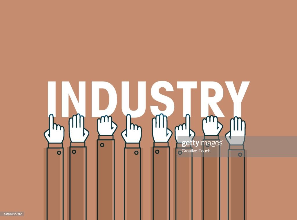 Industrie : Stock-Illustration