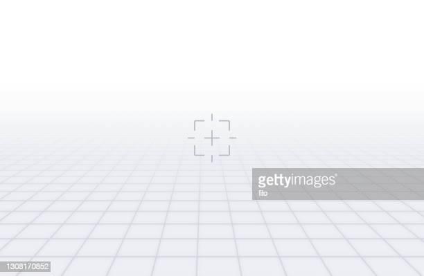 無限平面ターゲット グリッド - ゴールを狙う点のイラスト素材/クリップアート素材/マンガ素材/アイコン素材