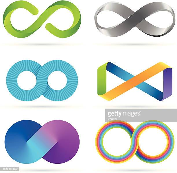 illustrations, cliparts, dessins animés et icônes de série infinity - infini