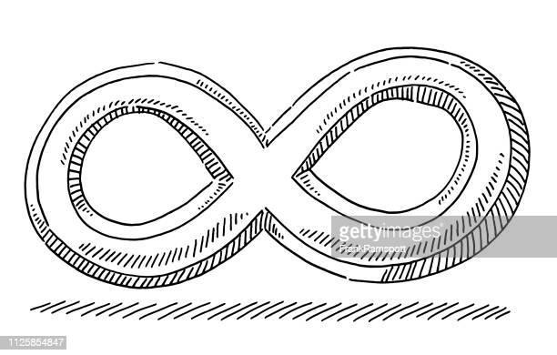 Unendlichkeit Symbol Zeichnung