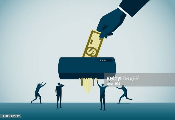 inflation - cutting stock illustrations