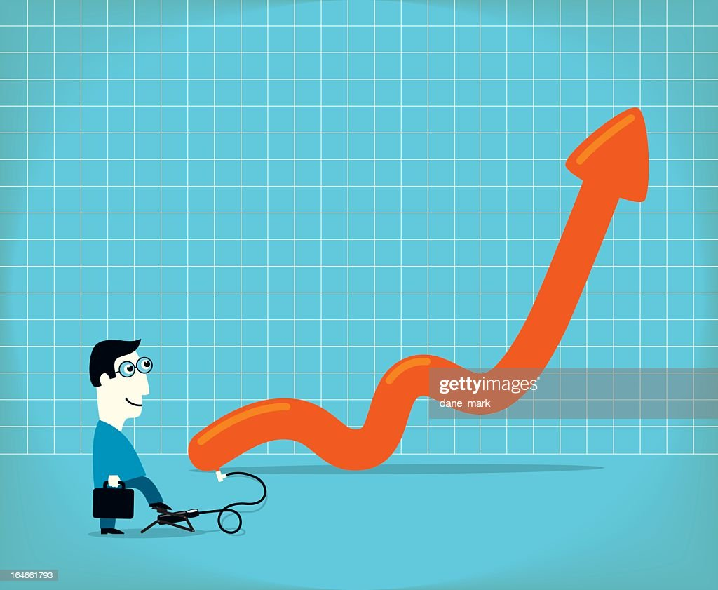 Inflation : stock illustration