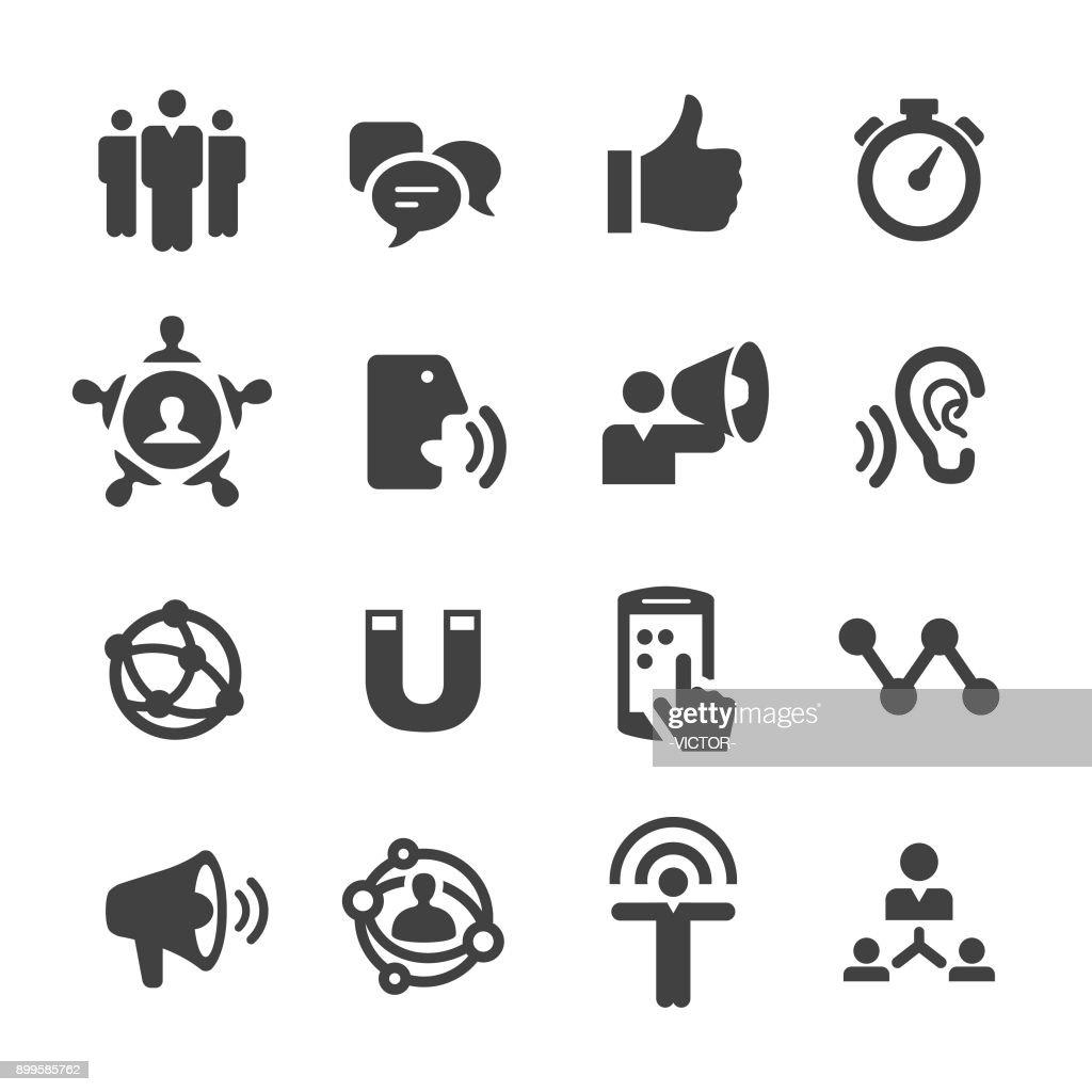Influencer Marketing Icons - Acme Series