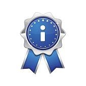 Info blue Vector Icon Design