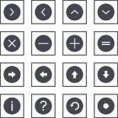 Info Circle Outline Symbols