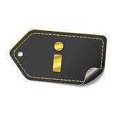 Info golden Vector Icon Design