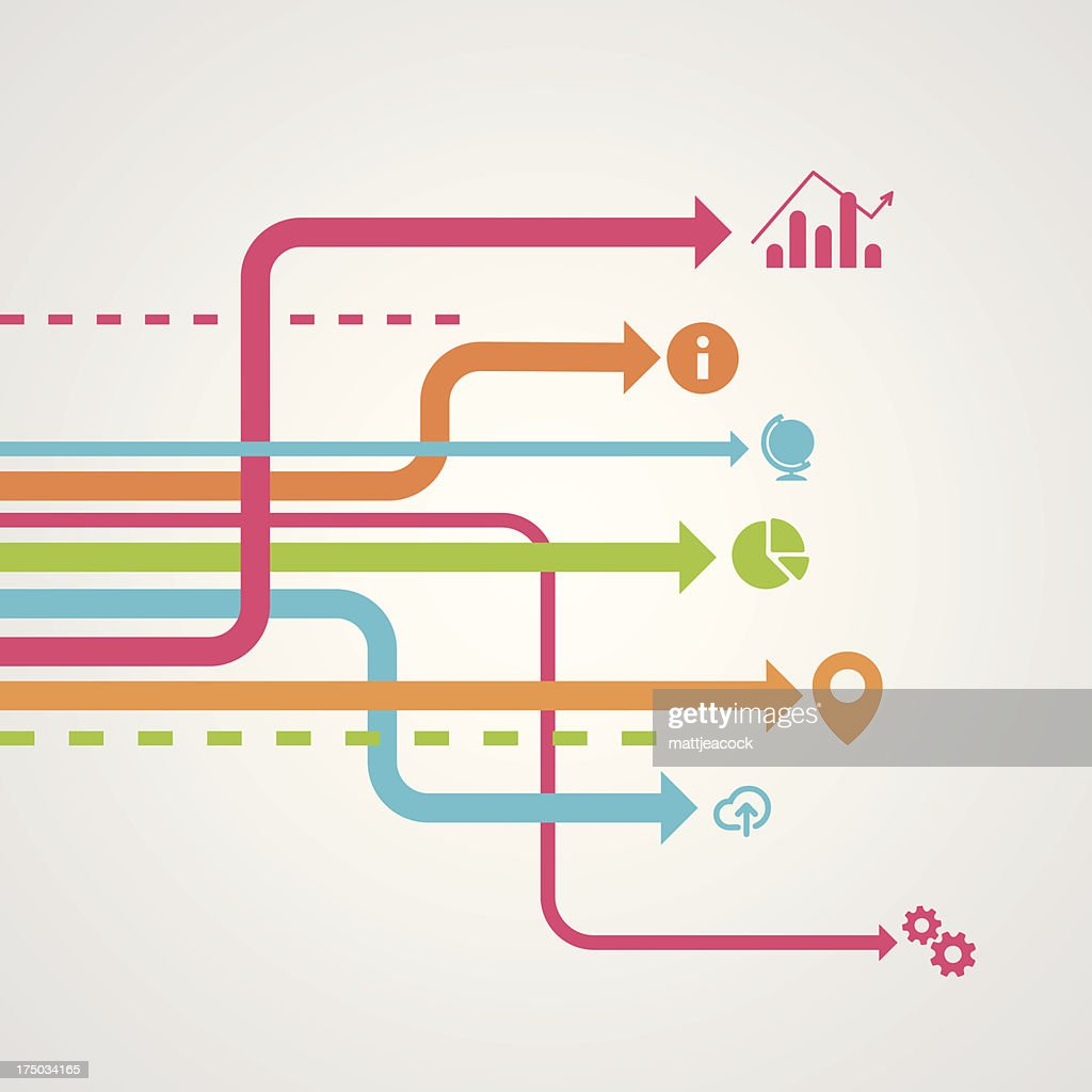 Info graphic design element : stock illustration