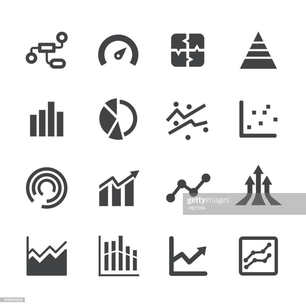 Gráfico información iconos de Acme serie : Ilustración de stock