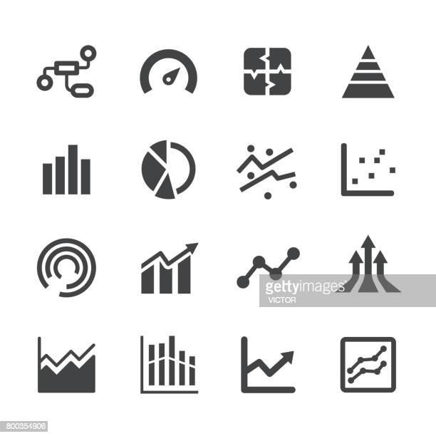 info graphic icons - acme series - growth stock illustrations