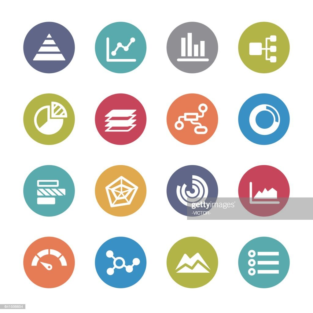 Info Graphic Icons - Circle Series : stock illustration