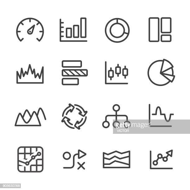 Info Graphic Icons Set - Line Series
