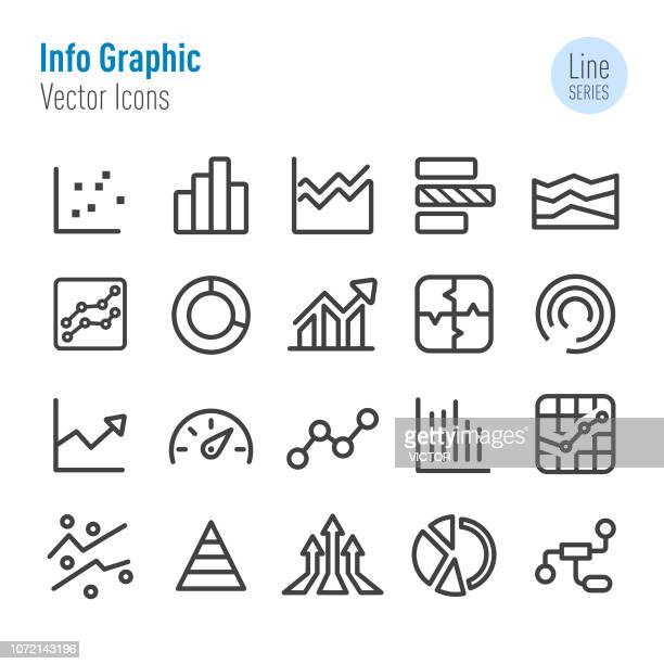 Info Graphic Icons - Vector Line Series