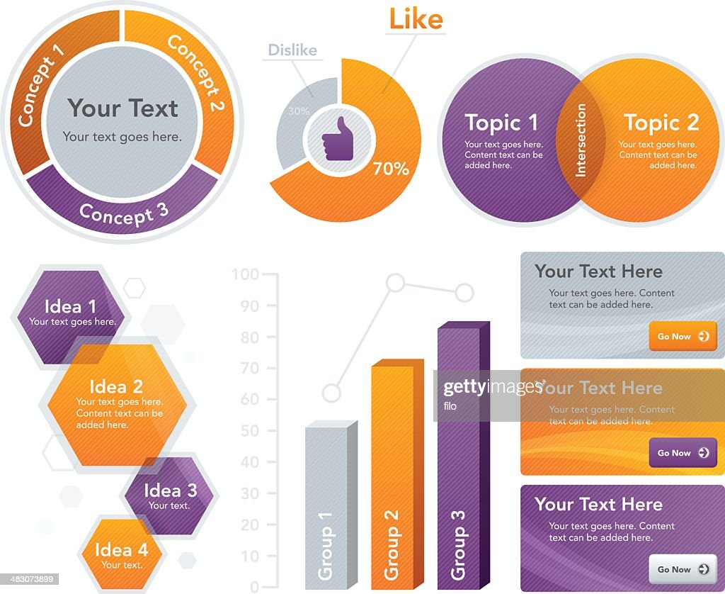 Infographic and Web Elements