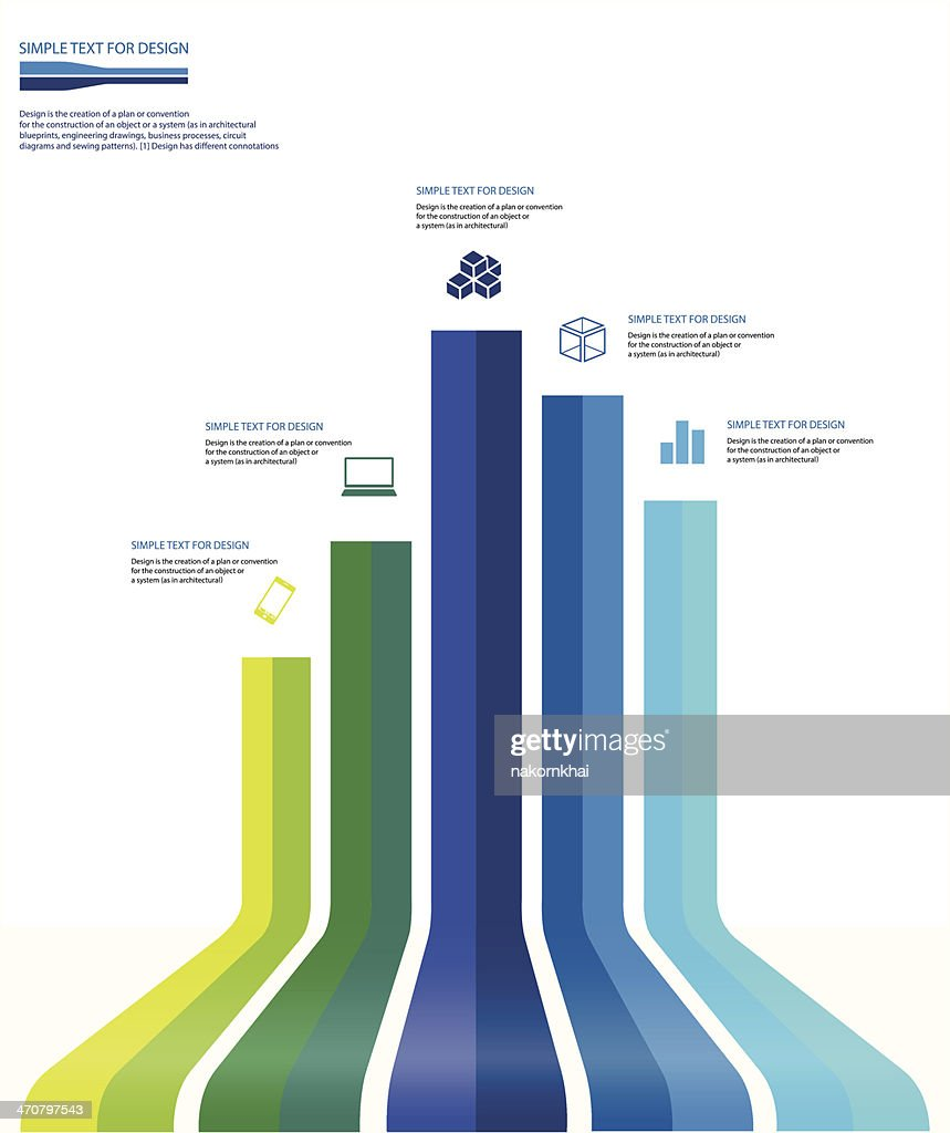 infographic business chart set 2