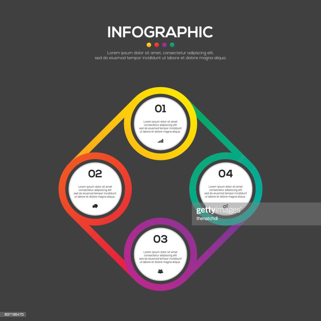 Modèle De Conception Infographie Affaires Rapport élément De Design
