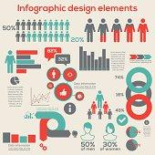 Infographic design elements