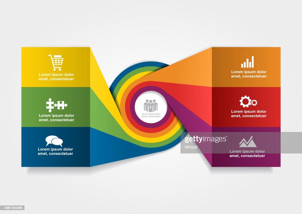 Infographic design template. Vector illustration.