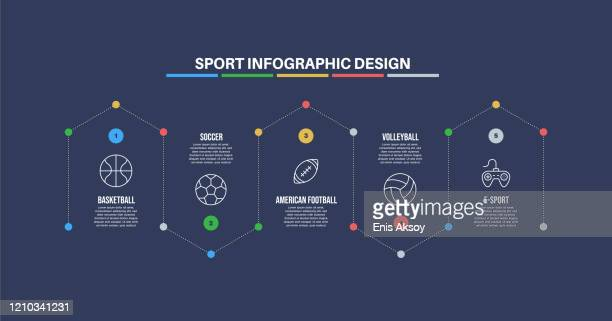 infographic design template with sport keywords and icons - combat sport stock illustrations