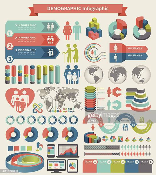 infographic element - population explosion stock illustrations, clip art, cartoons, & icons
