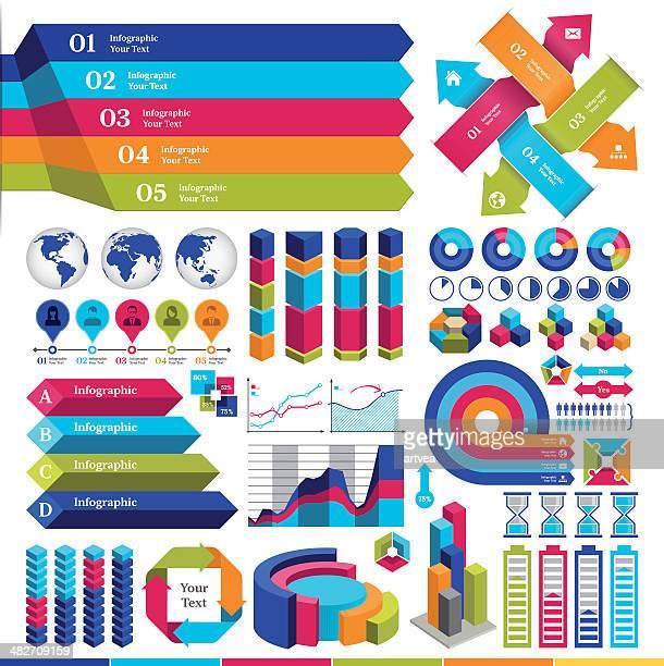 infografik-elemente - liniendiagramm stock-grafiken, -clipart, -cartoons und -symbole
