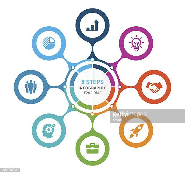 infographic element - steps stock illustrations