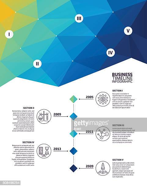 Infographic Elements Abstract Background