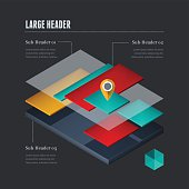 Infographic Elements - Layered Elements