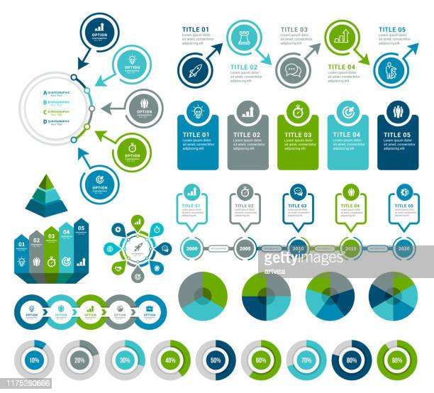 infographic elements - diagram stock illustrations