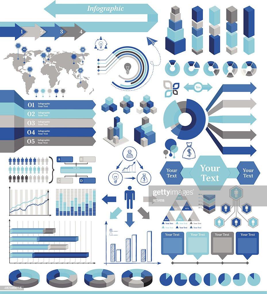Infografik-Elemente : Stock-Illustration
