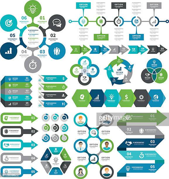 infographic elements - diagram stock illustrations, clip art, cartoons, & icons