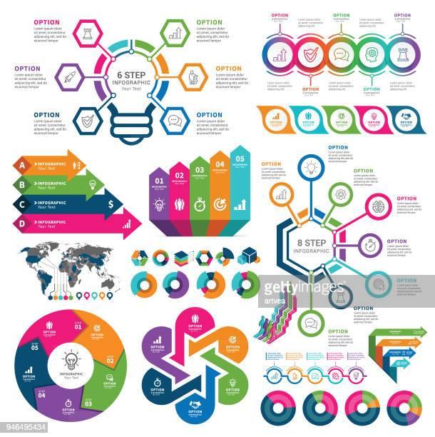 ilustraciones, imágenes clip art, dibujos animados e iconos de stock de infografía elementos  - con eficaz consumo de energía