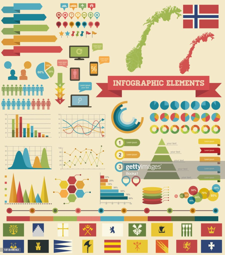 Infographic Elements-Norway