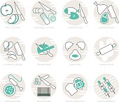 Infographic Icons Elements about Cooking