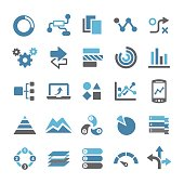Infographic Icons - Qual Series