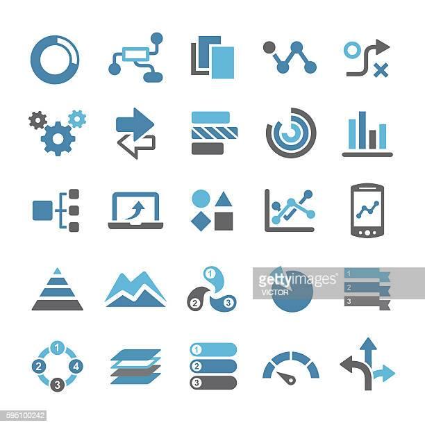 ilustraciones, imágenes clip art, dibujos animados e iconos de stock de infographic icons - qual series - marcar términos deportivos